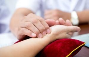 Hartslag handen